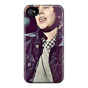 Case Cover For Apple Iphone 6 Plus 5.5 Inch Look Justin Bieber On Stage Colorful High Quality stylish covers protection