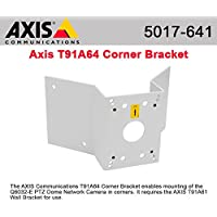 Axis Communications 5017-641 T91A64 Corner Bracket - Camera corner mounting kit - for AXIS 216, M3203, P3301, P3304, P5512, P5522, P5532, P5534, Q6032, Q6034, Q6035, T91A61