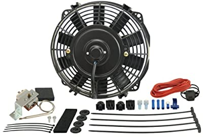 "Derale 16309 9"" Dyno-Cool High Performance Electric Fan"