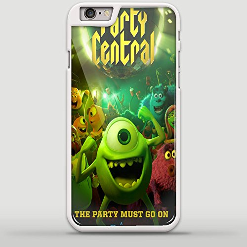 party central monster university Design GNO for iPhone 6/6s Plus White case