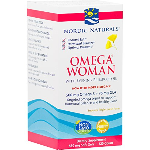 (Nordic Naturals - Omega Woman, Evening Primrose Oil Blend, 120 Soft Gels (FFP))