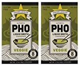 #2: Savory Choice Pho Liquid Broth Concentrate, Vegetable, 2.2 Ounce (Pack of 2)