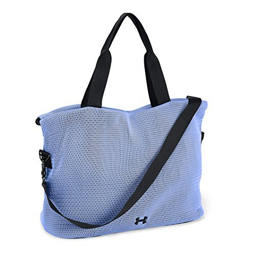 Under Armour Women's Cinch Mesh Tote, Talc Blue (586)/Black, One Size [並行輸入品] B07F4DRDF6