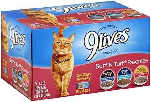 Cat Food: 9Lives Surf 'N Turf