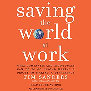 Saving the World at Work Audiobook