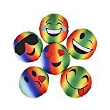 5'' Rainbow Emoticon Plush