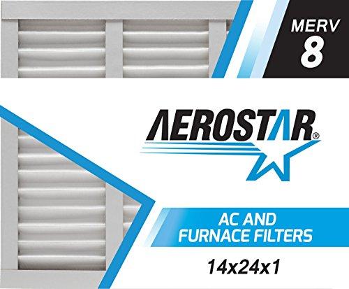 Aerostar 14x24x1 MERV Pleated Filter
