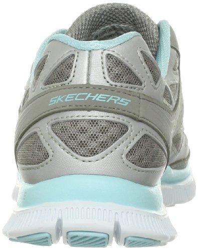 Skechers Flex AppealUnexpected - Zapatillas de material sintético mujer gris - Grau (CCLB)