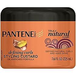 Pantene Pro-V Truly Natural Hair Defining Curls Styling Custard 7.6 Fl Oz