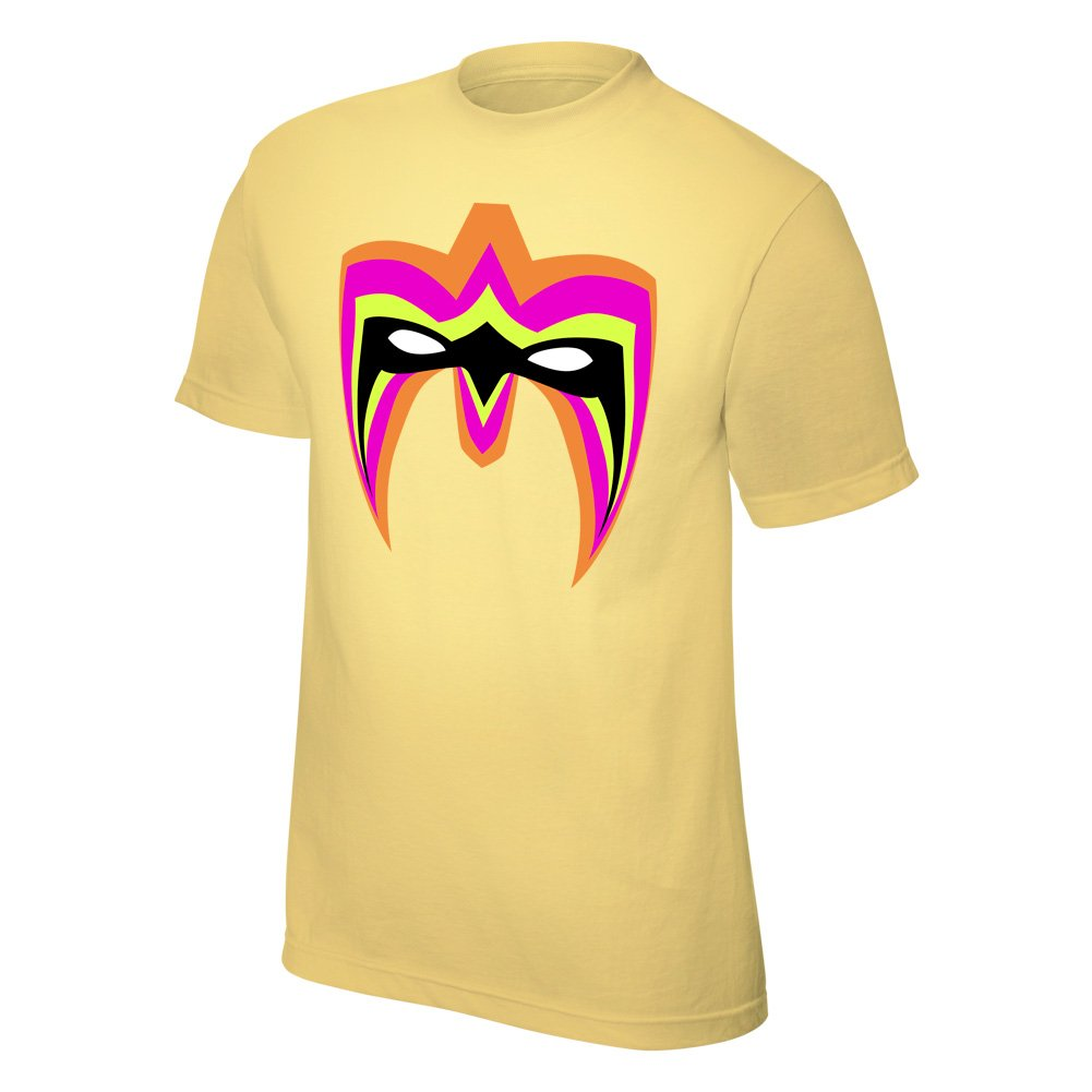 The Ultimate Warrior ''Parts Unknown'' Yellow T-Shirt, S [Apparel]