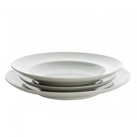 Kahla Pure and Simple 3 Piece Plate Setting  sc 1 st  Amazon UK & Kahla Pure and Simple 3 Piece Plate Setting: Amazon.co.uk: Kitchen ...