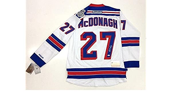 Autographed Ryan McDonagh Jersey - 2014 CUP PREMIER COA - Steiner Sports  Certified at Amazon s Sports Collectibles Store 3b324b053