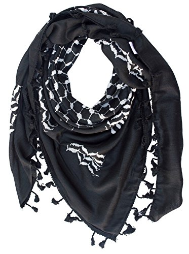 - Hirbawi Premium Arabic Scarf 100% Cotton Shemagh Keffiyeh 47