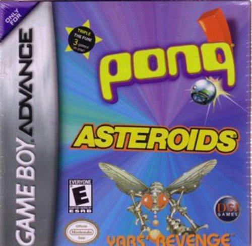 Asteroids/Pong/Yar's Revenge