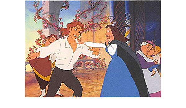Beauty And The Beast #133 Upper Deck 1992 Disney Trading Card