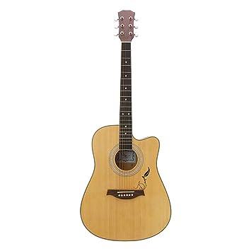 Panel de Picea de Guitarra Folk de 40 Pulgadas, Falta Guitarra ...