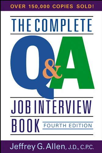 Download The Complete Q&A Job Interview Book pdf