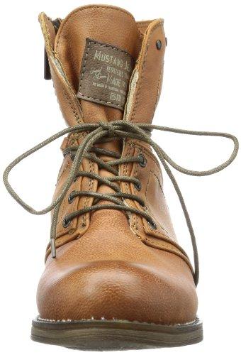 Braun 307 Mustang femme Boots Cognac 1139610 qOOzcZ