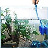 WEAVERBIRD Aquarium Sponge Cleaning Brush, Long