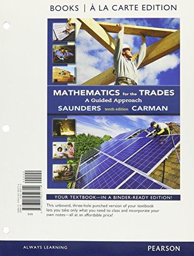 Mathematics For The Trades(Ll) W/Mymath