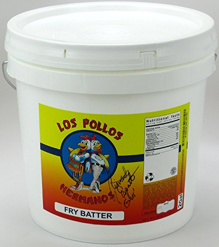 Giancarlo Esposito Autographed/Signed Breaking Bad Los Pollos Hermanos French Fry Batter Delivery Bucket from Radtke Sports