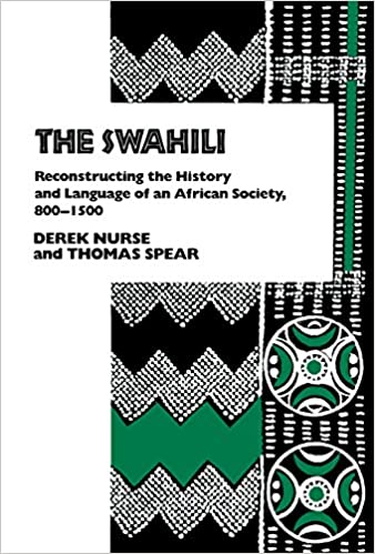 Amazon com: The Swahili: Reconstructing the History and Language of