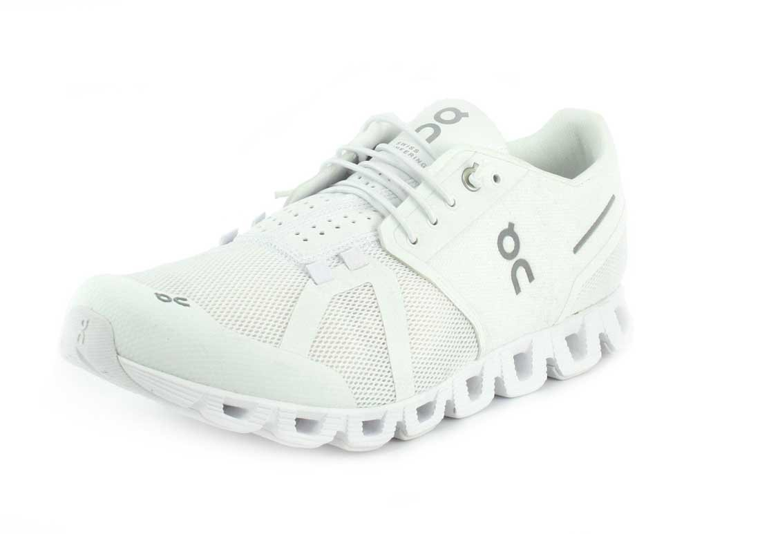 On Running Mens Cloud Shoe B0725X72P2 8.5 D(M) US|All White