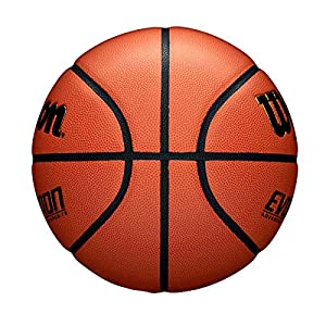 "Wilson Evolution Indoor Game Basketball, Official Size (29.5""), Black"