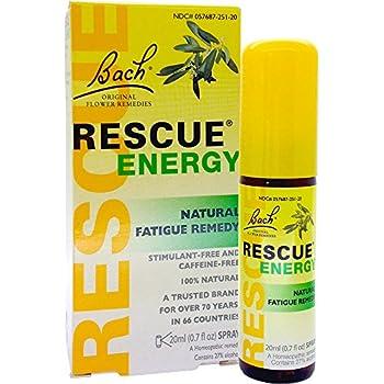 Amazon.com: Bach Flower Remedies Rescue Energy, 0.7 Fluid