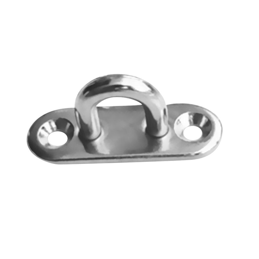 Sharplace Augplatte - Augenplatte - Deckplatte aus Edelstahl
