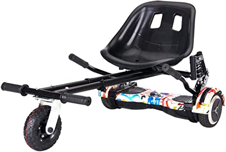 Lvbeis Hoverkart Asiento para Hoverboard Silla Kart Patinete EléCtrico Compatible Go Kart Self Balancing Scooter: Amazon.es: Deportes y aire libre