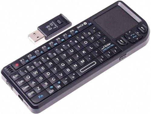 sw-k808 Portable 2.4GHz Wireless Rii Mini PC Keyboard with Touchpad 2.4G Receiver by PSK