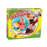 Mallya Ice Cream Play Dough with Tools Set for Kids Gift