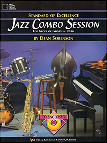 Amazon com: Standard of Excellence: Jazz Combo Session for