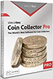 Coin Collecting Software: Stecotec Coin Collector Pro - Inventory Program for Your Coins - Numismatic Collection Management - Digital Organiser and Album for Collectors