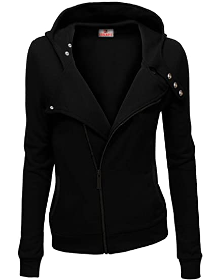 TAM WARE Women Slim fit Zip-Up Warm Hoodie Jacket