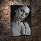Seasons Eliza DUSHKU - Canvas Clock (A5 - Signed by The Artist) #js009