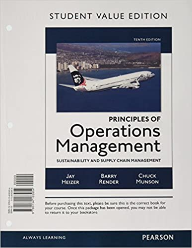 Principles of operations management sustainability and supply principles of operations management sustainability and supply chain management student value edition 10th edition 10th edition fandeluxe Gallery