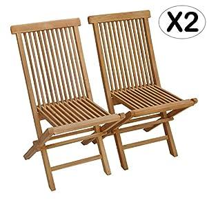 Beneffito Salento - 2 sillas de jardín