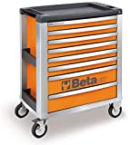 C39 G/8-MOBILE ROLLER CAB 8 DRAWERS GREY