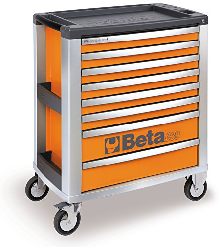 C39 G/8-MOBILE ROLLER CAB 8 DRAWERS GREY by Beta Tools