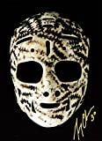 Gerry Cheevers The Mask Signed 10x15 - Boston Bruins