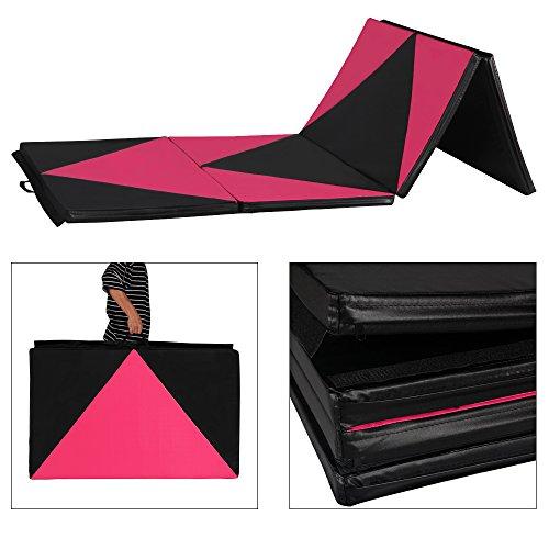 Cloud Mountain 4'x8'x2 Gymnastics Mat Folding Thick Panel