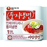 Nongshim/ Dungji Bibim Naengmyeon(Korean Cold Noodles) 4ea,Korean Instant Noodle, Korea Ramen Ramyun
