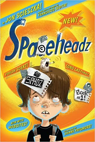 Image result for spaceheadz book