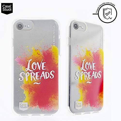 Capa Para iPhone 6/6S/7/8 Original Feminina Personalizada Love Spread Casestudi, CaseStudi, CS-I7-PR-LS, Clear