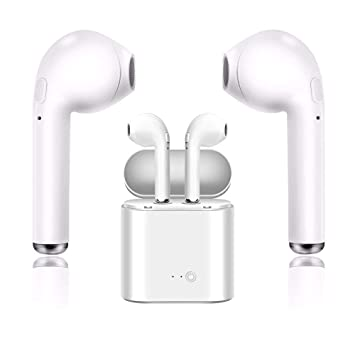 Auriculares Bluetooth,Auriculares inalámbricos Bluetooth audífonos estéreo de Alta definición con audífonos con micrófono de Alta definición para ...
