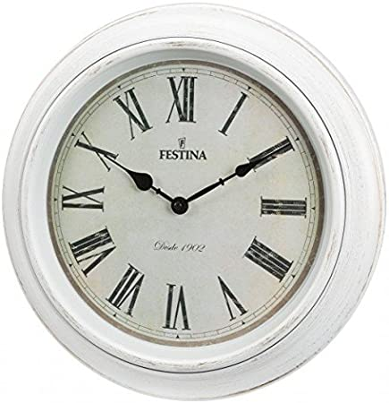 Festina - Reloj de Pared FC0123 - Blanco