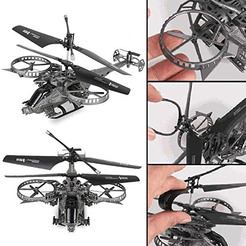 - Woolves 4 Channel RC Helicopter Remote Control Aircraft Helicopter Model for Avatar Quadcopter Drone