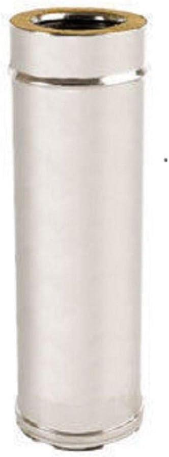 Conduit de chemin/ée en acier inoxydable 316 Aisi Int 304 Aisi Est 5 Dc isol/é pour double paroi